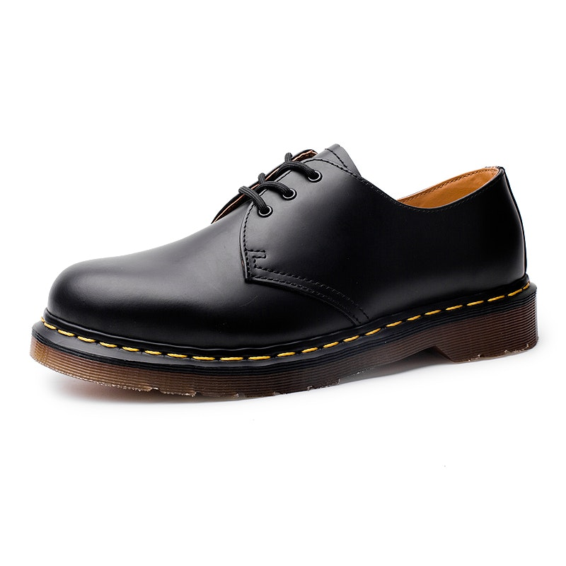 Men's Four Seasons Chunky Sole Lace Up Leather Casual Shoes