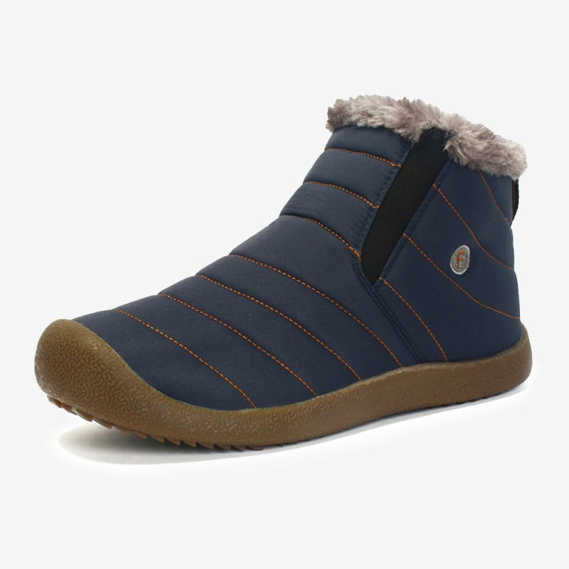 Men's Winter Thickening Water-resistant Tarpaulin Ankle Boots
