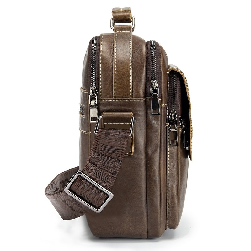Men's Vintage Casual Leather Sling Bag
