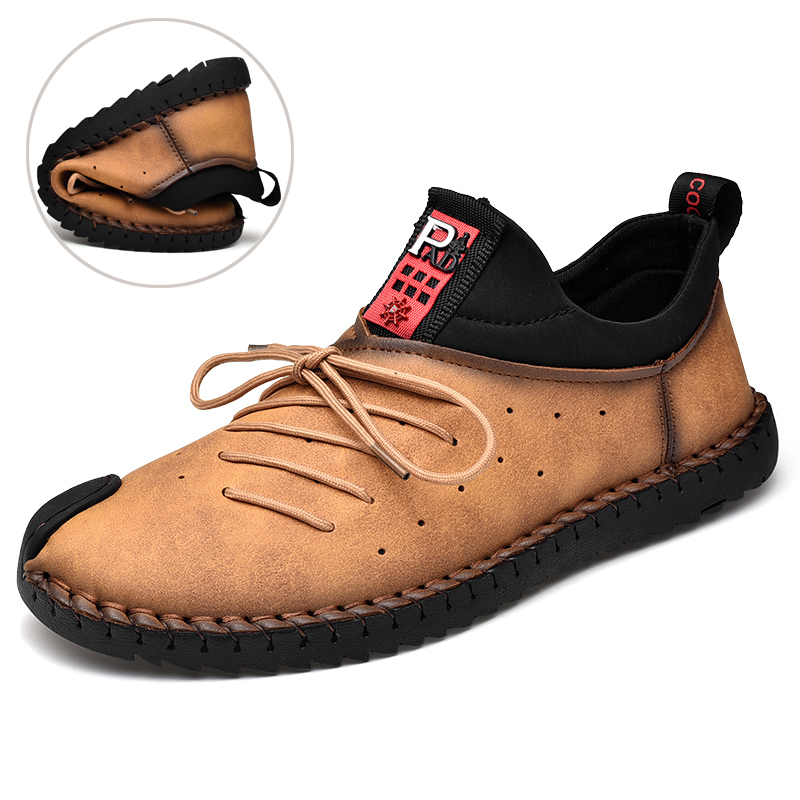 Microfiber Leather Casual Shoes | Calceus