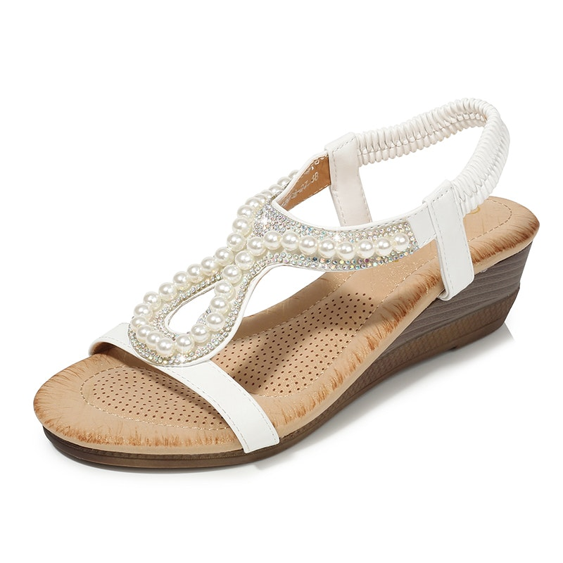 Women's Summer Bohemia Style Party Microfiber Leather Sandals