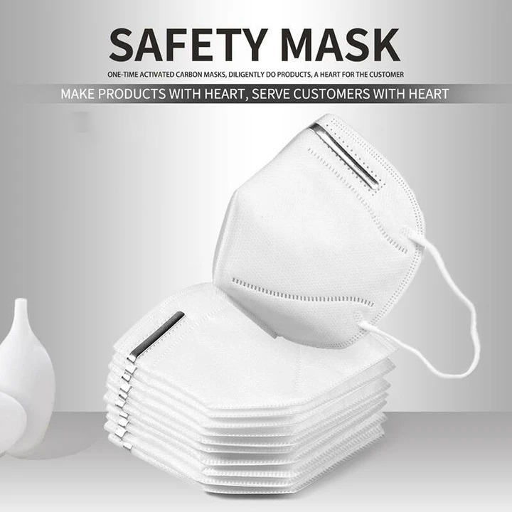 N95 Rated (KN95) Face Mask Medical Grade Anti-Virus Respirator