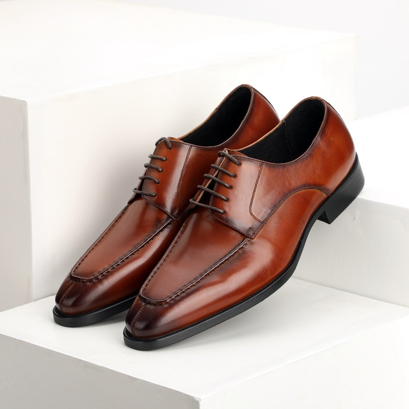 Men's Four Seasons Stylish Lace-up Leather Business Shoes