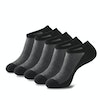 Men Four Seasons Breathable Solid Color 5 Pack Cotton Socks